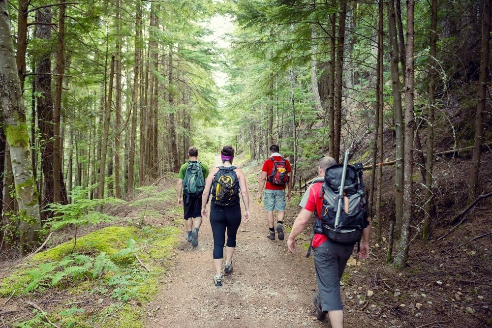 the most popular walking trails in Canada